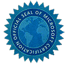 microsoft offical certified badge